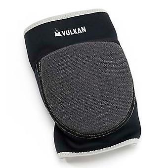 Vulkan بالموقع دعم الركبة مبطن الراحة الأسود للجنسين 91237684
