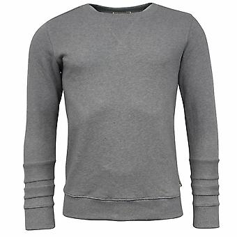 Onitsuka Tiger Heather Grey Mens Cotton Pullover Sweat Shirt 0KS257 0099 X3B