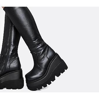 Brand Design High Platform Fashion Zip High Heels Boots