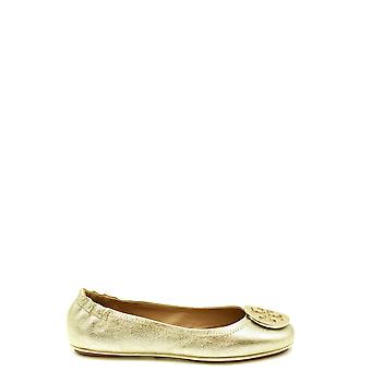 Tory Burch Ezbc074016 Women's Gold Leather Flats