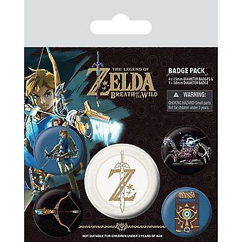 Zelda Z -tunnuksen selitesjoukko (5 kpl pakkaus)