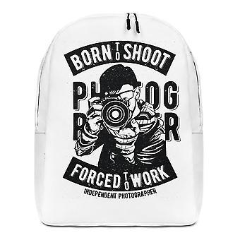 Born to Shoot - Minimalistische rugzak fotograaf
