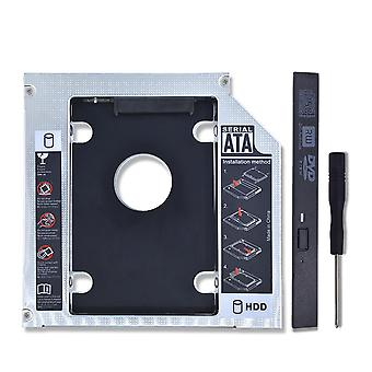 "2nd Hdd Caddy 12.7mm Sata 3.0 For 2.5"" Ssd Hard Disk Driver Case & Dvd Cd-rom"