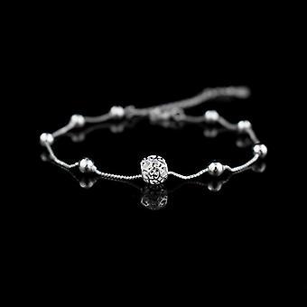 Chaîne de bracelet de anklets de bille