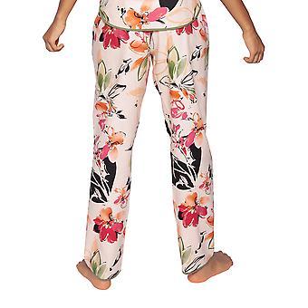 Cyberjammies Natalie 4795 Femmes & s Peach Mix Pantalon pyjama en coton floral