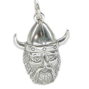 Viking Sterling Silver Charm .925 X 1 Vikings Charms - 2608