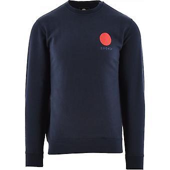 Edwin Navy Japanese Sun Sweatshirt