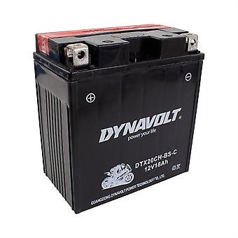 Dynavolt DTX20ABS Maintenance Free Battery With Acid Pack YTX20-ABS