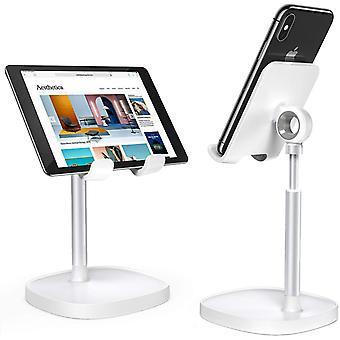 Divi universele telescopische liftable desktop mobiele telefoon tablet houder staan voor ipad air voor iphone 12 xs 11 pro poco x3 nfc mi10
