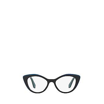 Miu Miu MU 01RV blue / top opal blue female eyeglasses