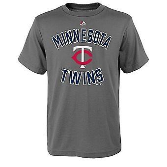 "Minnesota Twins MLB Majestic ""On Deck"" Youth Tee"
