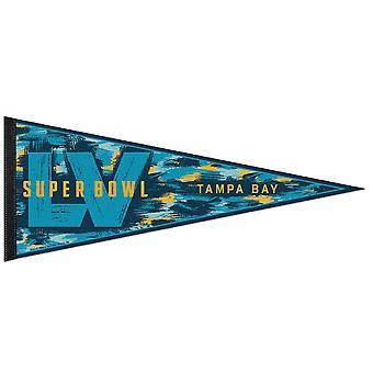 Wincraft NFL Felt Pennant 75x30cm - Super Bowl LV
