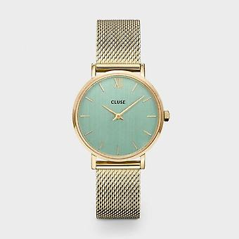 Cluse Unisex Minuit Gold Circle Quartz Fashion Watch CW0101203030