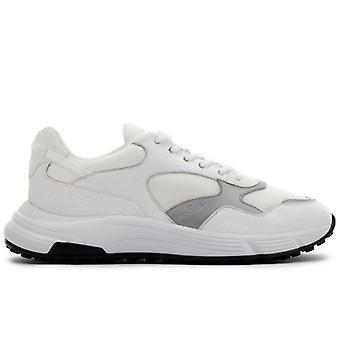 Sneakers Uomo Hogan Hyperlight Bianche E Argento