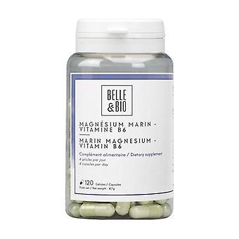 Marine Magnesium Vitamin B6 120 capsules