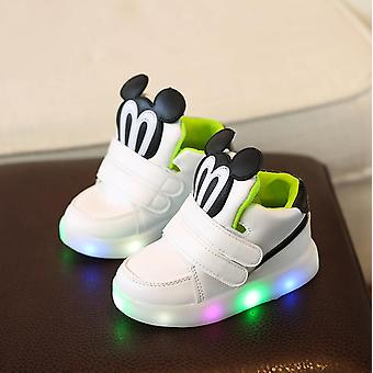 Children Casual Shoes With Led Light, Sneakers
