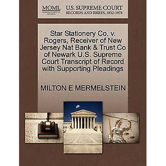 Star Stationery Co. V. Rogers - Receiver of New Jersey Nat Bank &