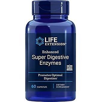 Life Extension Erhöhte Super Verdauungsenzyme 60 Veggie-Kapseln
