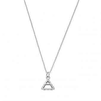 ChloBo SNDB3100 Women's Delicate Box Chain Air Necklace