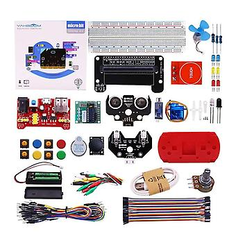 Bit Starter Learning Kit Bbc Micro-bit Board Graafinen ohjelmoitava varsi (kuten