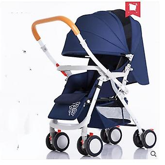 Lightweight Folding Four-wheel Shock Newborn Baby Stroller