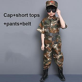 Uniforme militaire, combinaison d'entraînement, force spéciale, ensemble pantalon de veste de combat,
