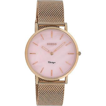 OOZOO Wristwatch Vintage Women – Rose Gold C20067
