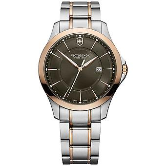 Victorinox alliance watch for Analog Quartz Men with stainless steel bracelet V241913