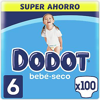 Dodot Dry Baby Box Diapers Size 6