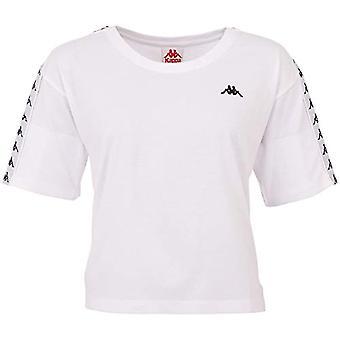 Kappa Damen Glanda T-Shirt, Damen, T-Shirt, 307066, 11-0601 Bright White, S