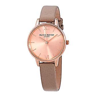 Olivia Burton Japanese Quartz Watch with OB16MD88 Plastic Strap