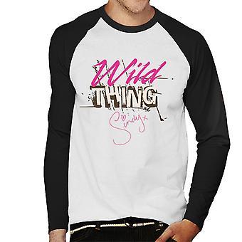 Sindy Wild Thing Miesten baseball pitkähihainen t-paita