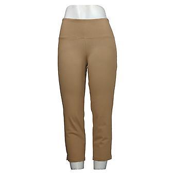Kvinder med kontrol mave Kontrol Prime Stretch Crop Jeans Beige A306449