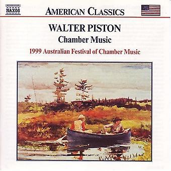 W. Piston - Piston: Chamber Music [CD] USA import