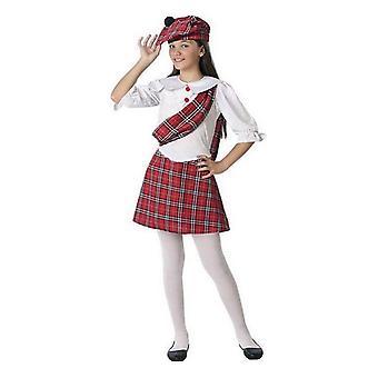 Costume pour enfants femme écossaise