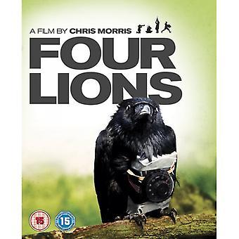 Dvd-skiva med fyra Lions 2010
