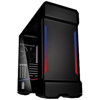 Phanteks Enthoo Evolv X Digital Midi Tower Sklenené herné puzdro - čierna