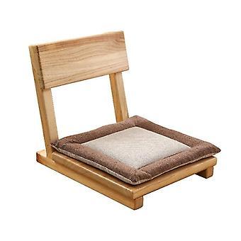 Sammenleggbar Tatami Ergonomisk Stol Voksen Komfort Legless Floor Zaisu -stol