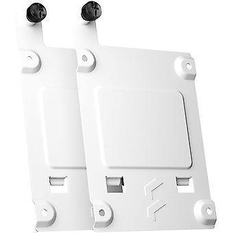 Fraktal Design SSD Tablett Kit - Typ B (2-Pack) Montagerahmen, weiß, Packung mit 2