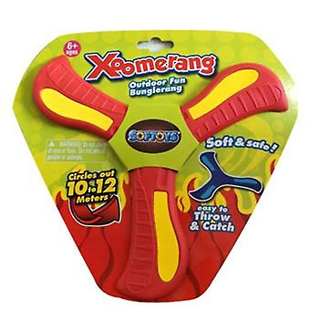 Returning Boomerang,soft Boomerang For Athletes, For Sports Game Toy To Beginners(RED)