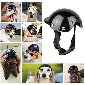 Pet kask motocyklowy czapka jazda pies zdjęcie