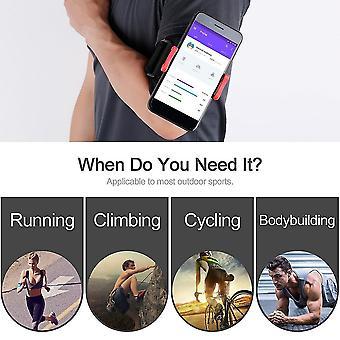 Bieganie Sport Armband Zdejmowany Telefon Uchwyt KlipS Sportowy Pasek Siłownia Pasek na ramię