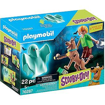 Playmobil 70287 Scooby-Doo! Scooby & Shaggy med spöke