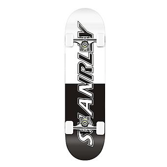 Suranelly Black And White Skateboard