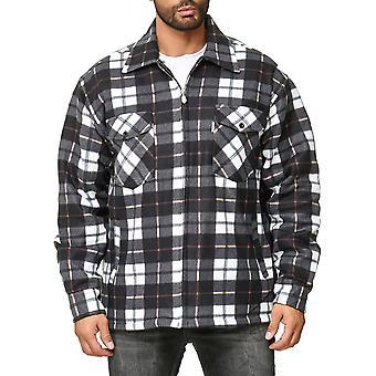 Футболка мужская Lumberjacket клетчатый Thermo выстроились пота куртка фланелевой спецодежды