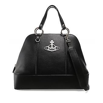 Vivienne Westwood Tillbehör Jordan Stor Läder Handväska