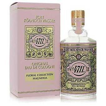 4711 Blomsterkollektion Magnolia Af 4711 Eau de Cologne Spray (unisex) 3,4 Oz (kvinder)