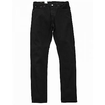 Edwin Jeans Loose Straight Rainbow Selvedge Denim - Black Rinsed