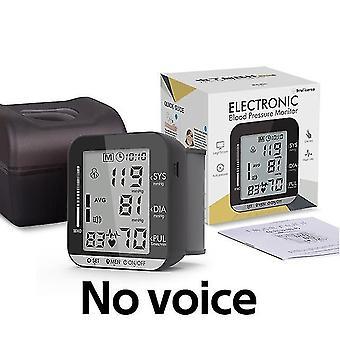 Medische apparatuur pols bloeddrukmeter lcd automatische digitale hartslag polsslag draagbaar