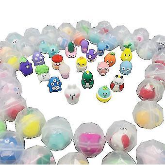 50 stuks willekeurig ei draaien speelgoed Gacha Ball Kids Party gunsten Mini Speelgoed